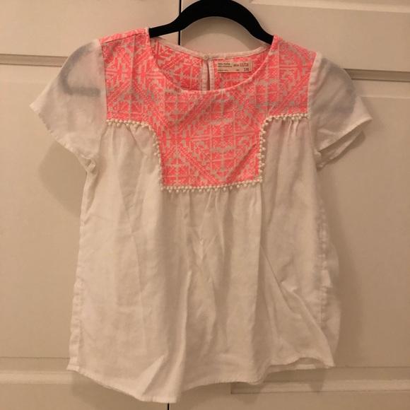 fa6ea1e9f zara girls shirt. M_5b5d479dbf77299998c64cb8